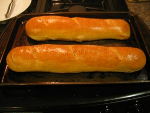 French Bread From The Oven