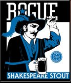 Rogue Shakespeare Stout Label